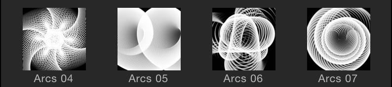 Preview icons in the Library file stack