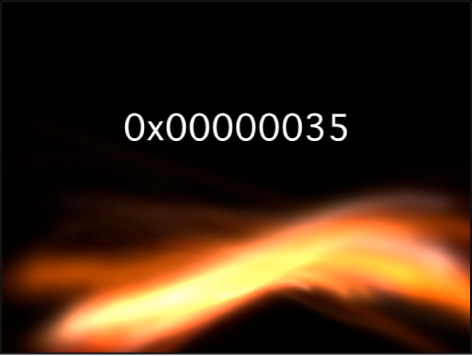 Canvas showing Numbers generator with Format set to Hexidecimal