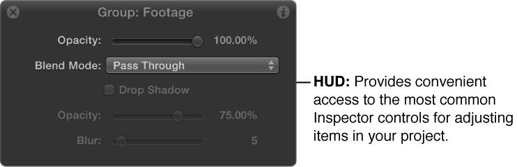 HUD window