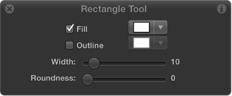 Rectangle Tool HUD