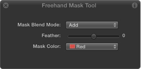 Freehand Mask Tool HUD