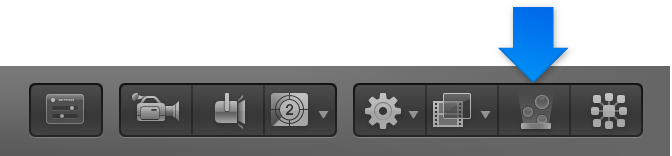 Make Particles button in toolbar