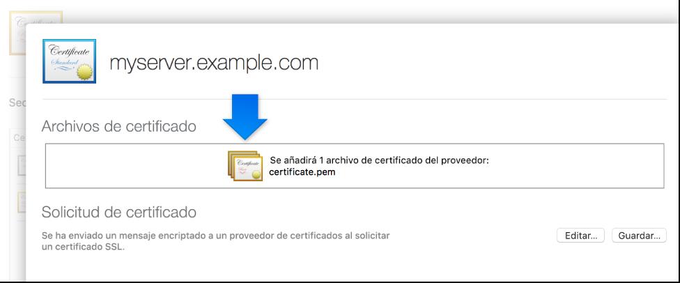 Certificado aplicado