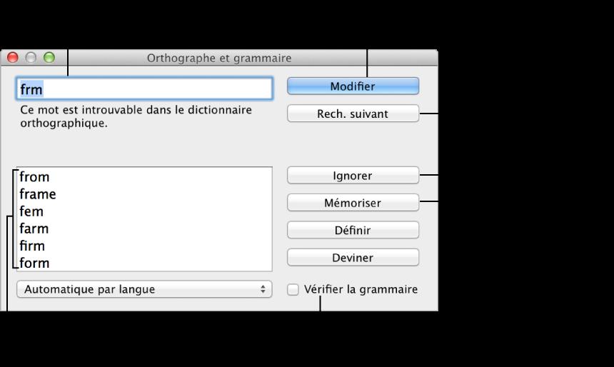 verifier orthographe et grammaire