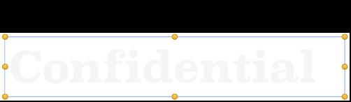 选定的对象,其中显示母版对象选择控制柄。