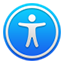 Acessibility settings icon