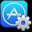 Symbool voor appconfiguratie-instellingen