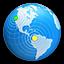Symbool voor instellingen voor OSX Server-accounts