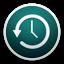 Symbool voor Time Machine-instellingen