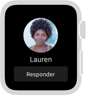 Quando você receber um desenho, toque ou pulsação de alguém, a notificação incluirá um botão Responder, próximo à parte inferior.