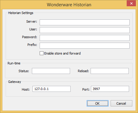 Connect to a Wonderware Historian database | Web Studio Help