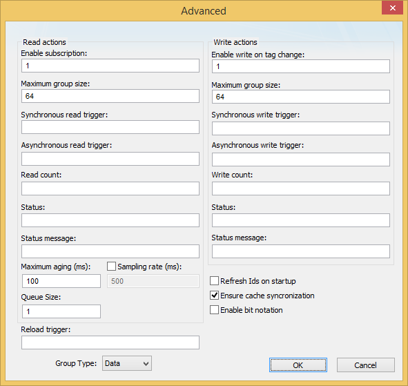 OPC UA Client | Web Studio Help