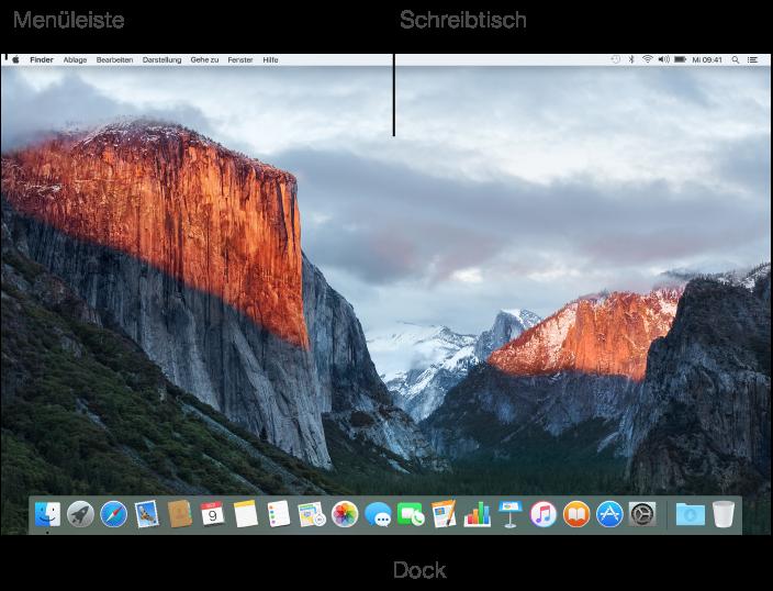 1 Oberfläche des Macs anpassen